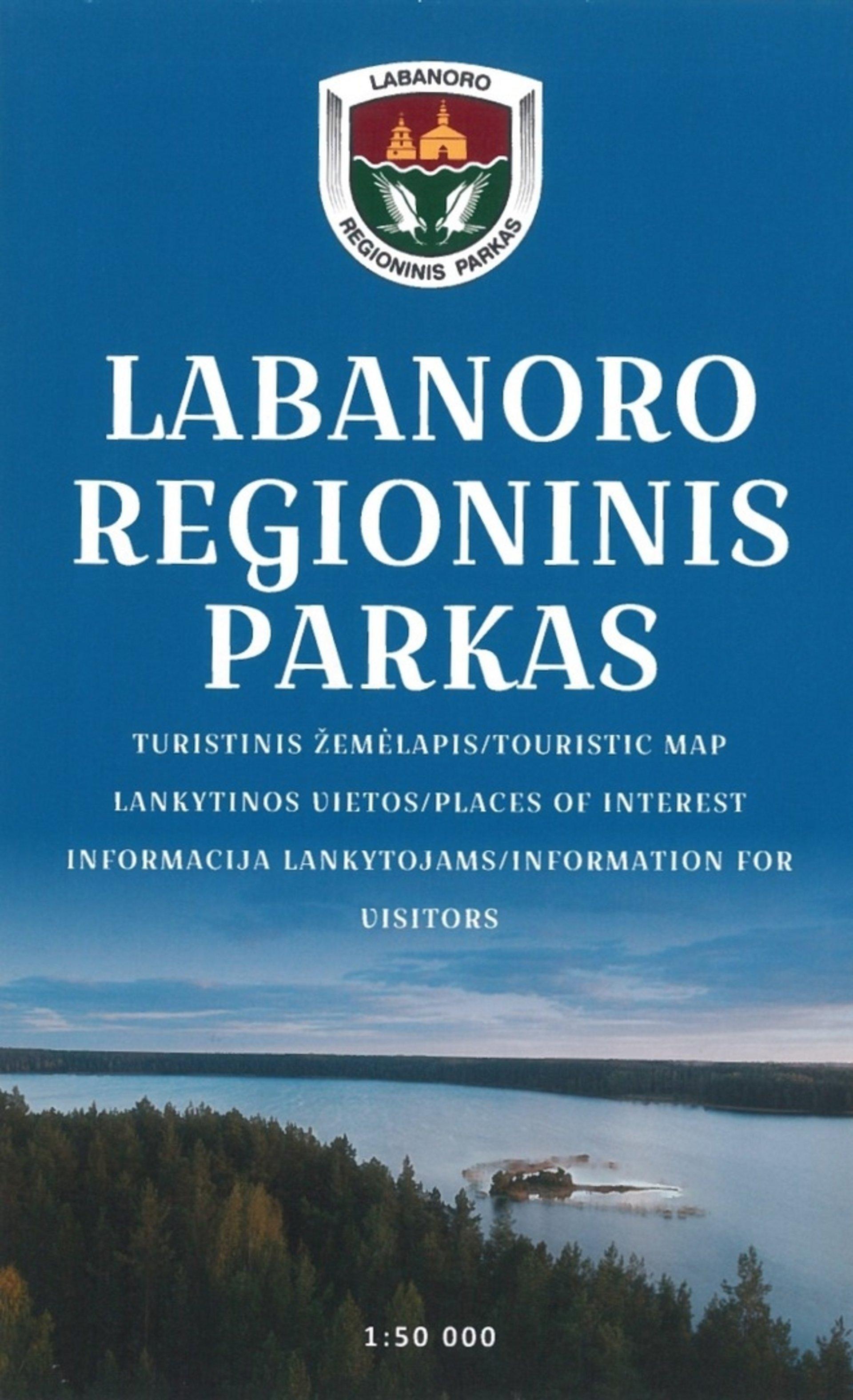 LRP turistinis žemėlapis - lankstinukas