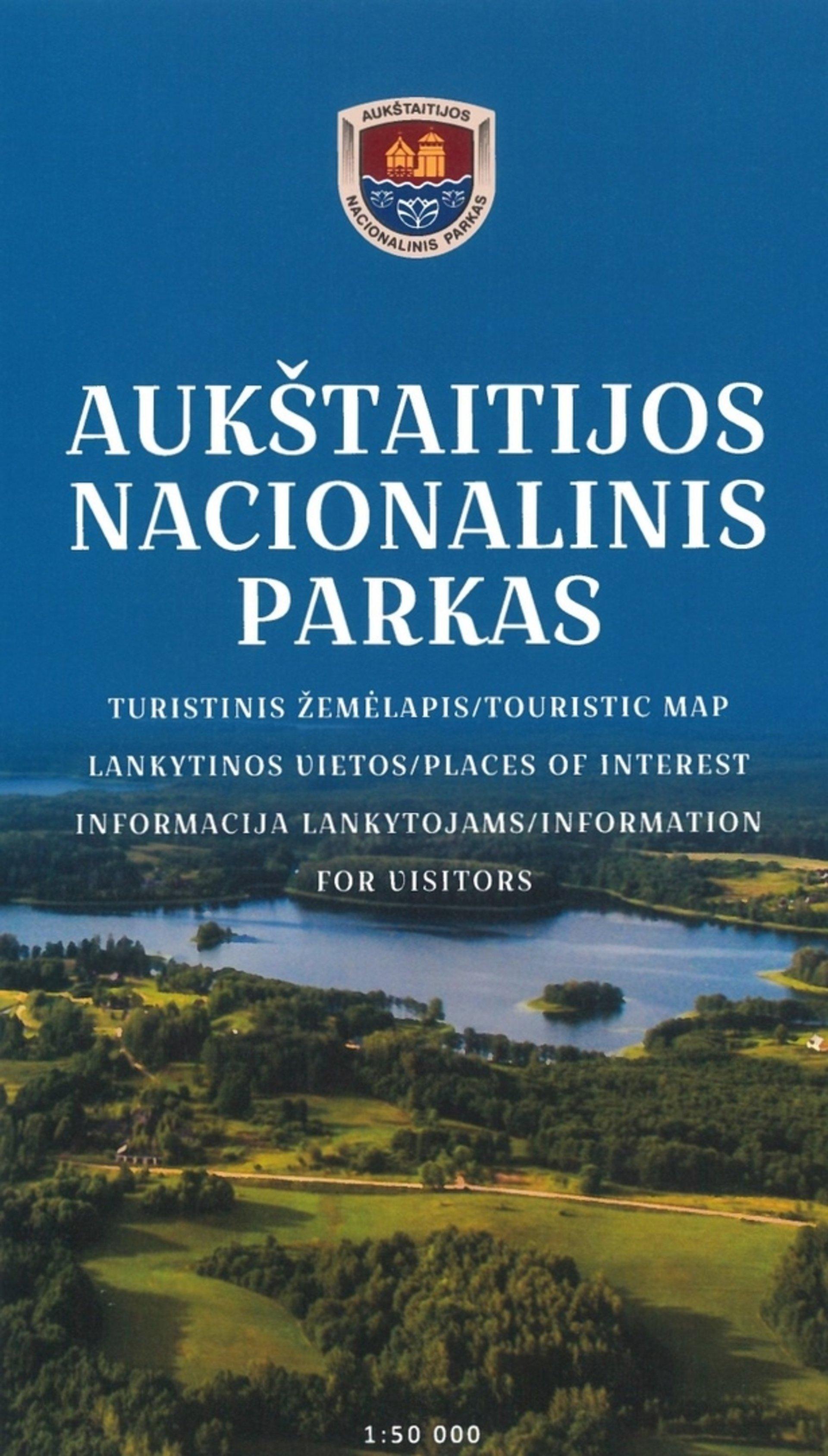 ANP turistinis žemėlapis – lankstinukas
