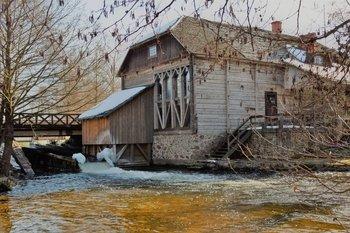 Muziejų naktis Ginučių vandens malūne