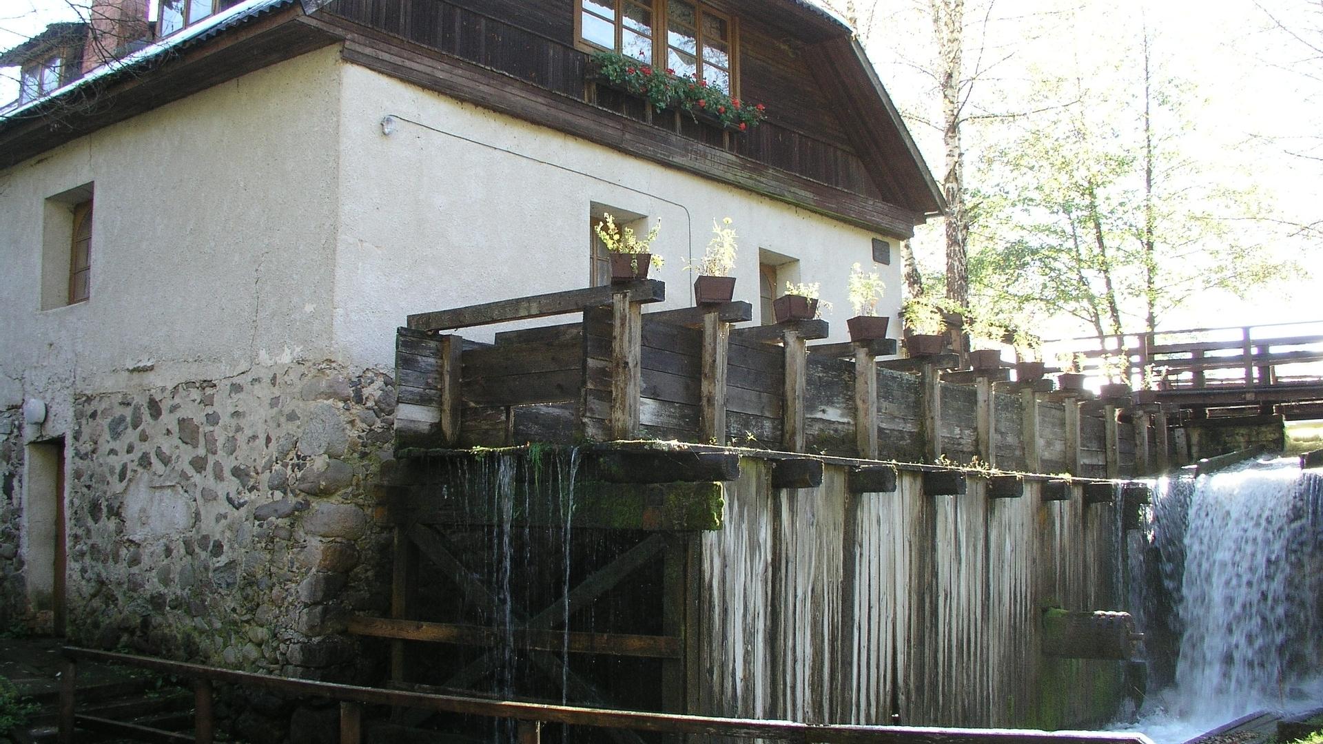 Gaveikėnai Wassermühle