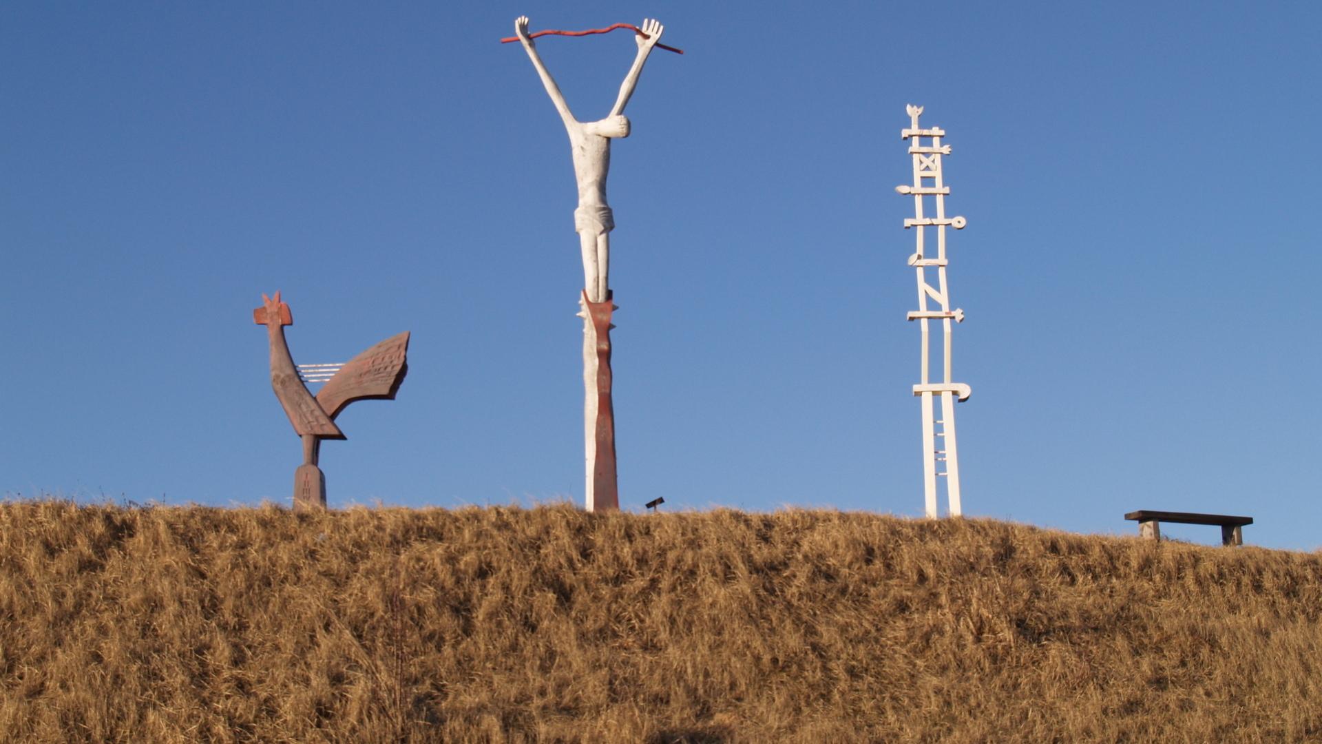 Antalksnė Skulpturenennsemble