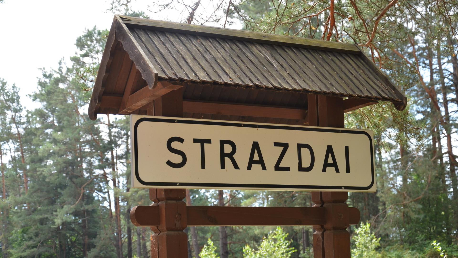 Этнографические деревни: Strazdai