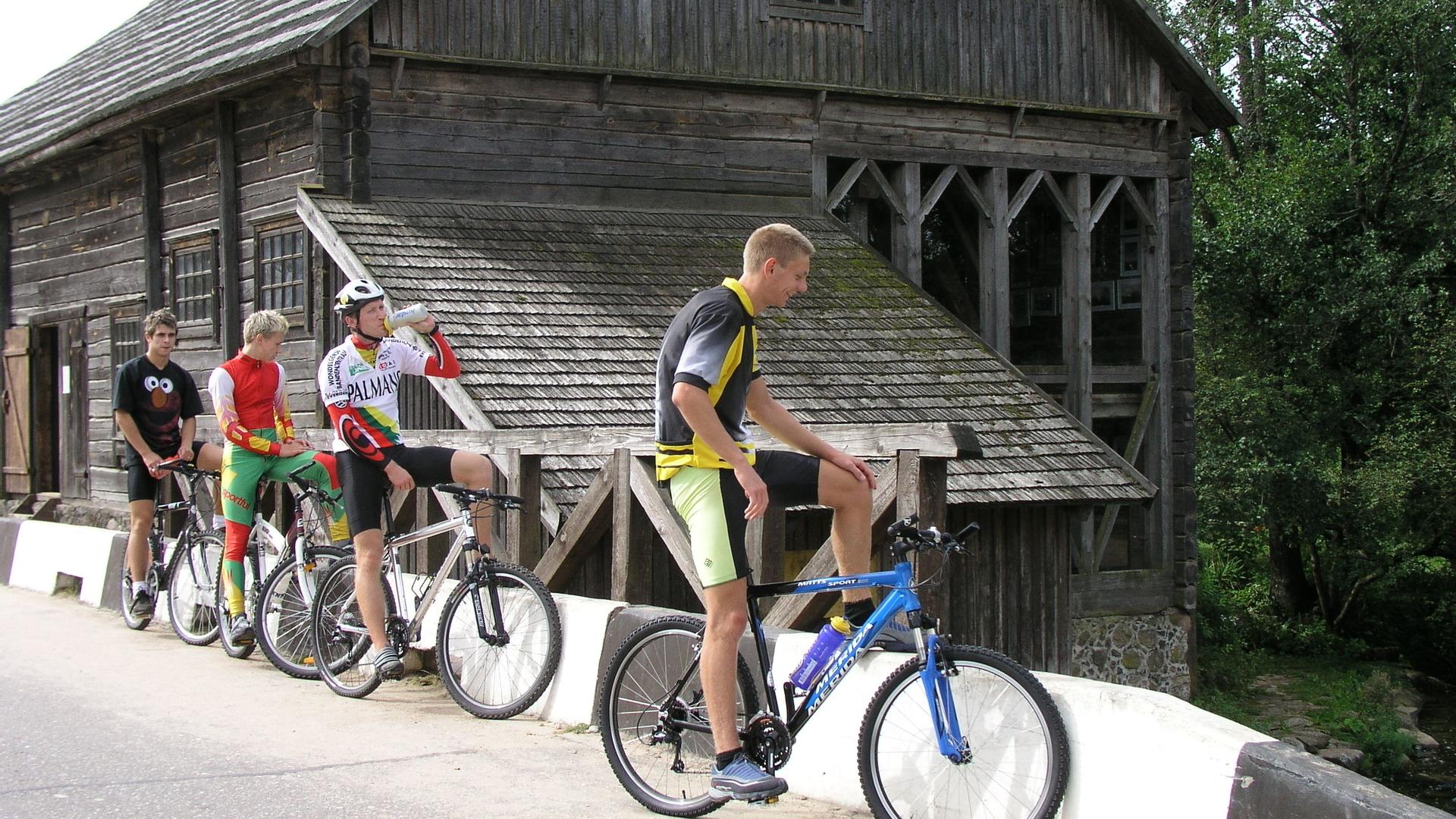 """D5 velomaršruts """"Divas dienas Aukštaitija nacionālā parkā"""""""