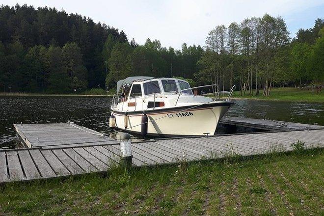 Поездка на моторной лодке «Kajsa»