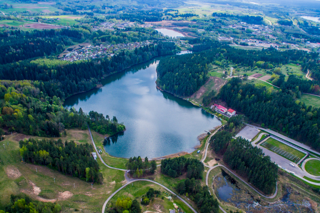Litauen Wintersportzentrum