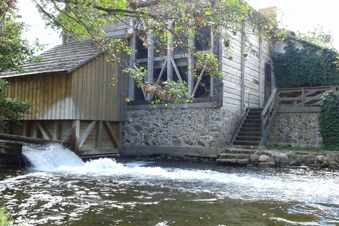 Ginučiai Wassermühle