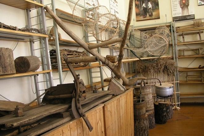Reškutėnai Filiale des Nalšia Heimatmuseums