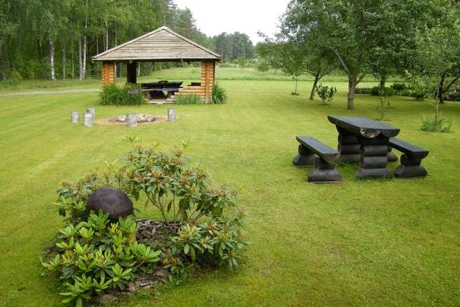 Rasa Bieliauskienė lauku mājā