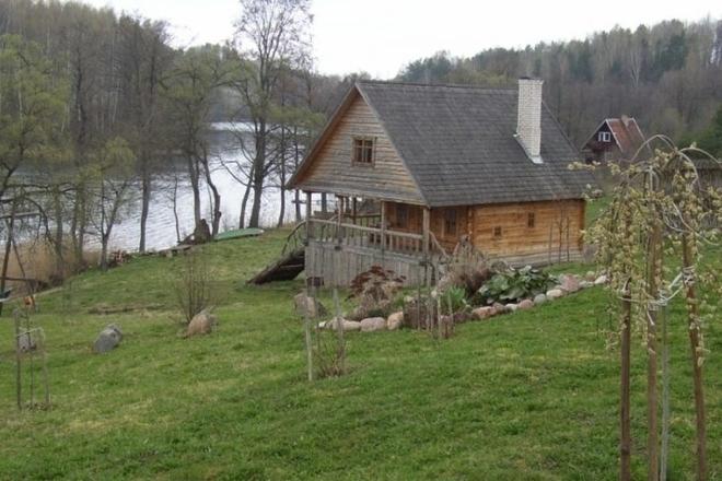 Juozas Šilinikas lauku mājā