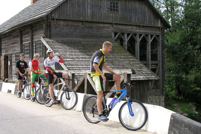 """D5 dviračių maršrutas """"Dvi dienos Aukštaitijos nacionaliniame parke"""""""