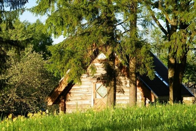 Vaidas Žilėnas lauku mājā
